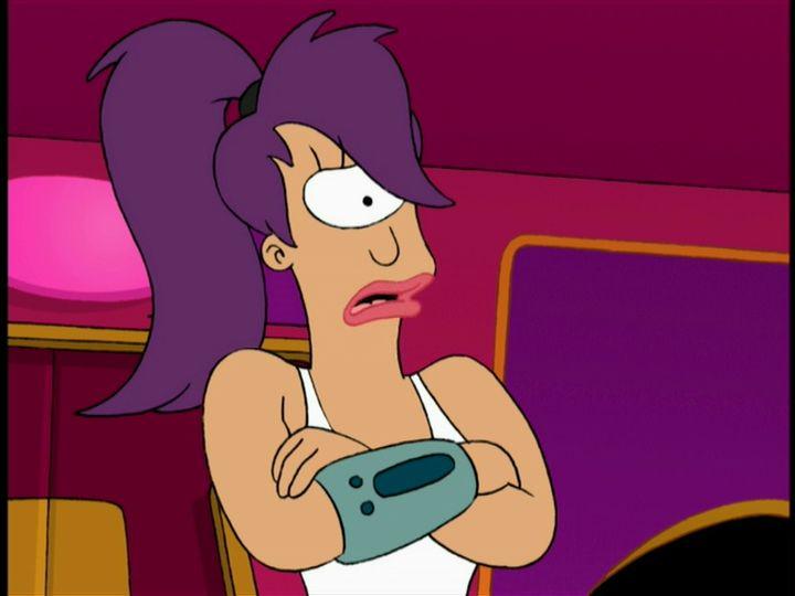 Futurama: Love's Labour Lost in Space